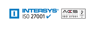 Intersys Ltd holds UKAS accredited ISO 27001 certification