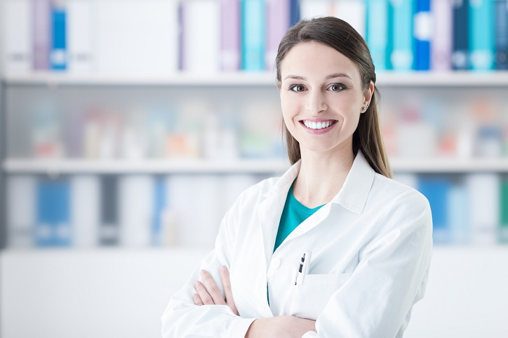 Confident smiling female doctor posing in the office, healthcare concept SCAIR blog